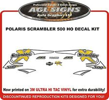 2002 POLARIS Scrambler 500 H.O.  Decal kit  reproductions  HO
