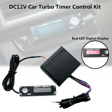 Universal Car Auto Turbo Timer Control Kit Red LED Digital Display Pen 12V Unit