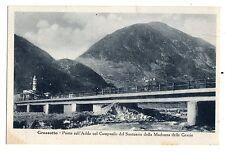 C002847   GROSSOTTO  PONTE  SULL'ADDA  CAMPANILE  MADONNA  DELLE  GRAZIE VG 1950