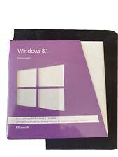Microsoft  Windows 8.1 (Retail (License + Media)) (1 PC/s) - Full Version for...