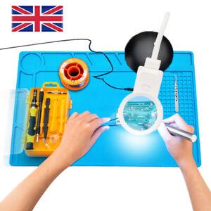 Heat Insulation Silicone Pad Soldering Repair Maintenance Work Platform Desk Mat
