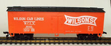 HO Scale 40 Foot Refrigerator Car marked Wilson Car Lines WCLX