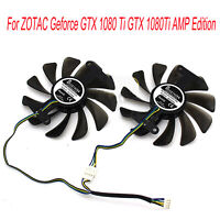 GPU Cooling Fan Carte Graphique pour ZOTAC GeForce GTX 1080 1070 AMP Edition LFR