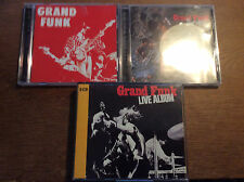 GRAND FUNK [3 CD ALBUM] live album + SURVIVAL + Grand Funk Railroad
