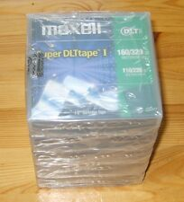 5 x MAXELL Super DLT1 SDLT Tapes - NEW - Factory Sealed