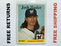 2019 Topps Archives Base Card #77 Josh Hader Milwaukee Brewers MLB