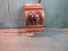 Antica serratura doppia penne con chiave, negozio, vetrinetta francese antico