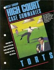 High Court Case Summaries - Torts