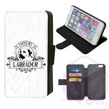 Me encanta mi teléfono Abatible Labrador Case Iphone Galaxy 4 5 6 7 8 9 10 X Xr Xs Max Plus