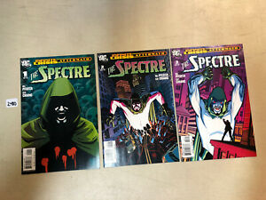(Infinite) Crisis Aftermath The Spectre (2006) #1 2 3 1-3 (VF/NM) Complete Set