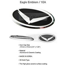 Eagle Steering Wheel Horn Cap Emblem for HYUNDAI 2011-2017 Veloster