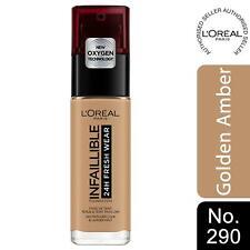 L'Oreal Paris Infallible 24H Freshwear Liquid Foundation 290 GoldenAmber, SPF 25