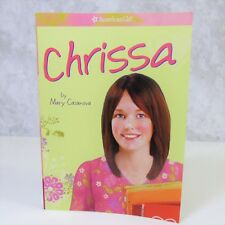 NEW American Girl Of The Year Doll CHRISSA MAXWELL MEET BOOK Paperback Story
