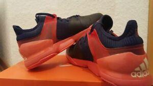 Adidas Adizero Ubersonic 2 Adituff Tennis Shoes Mens Size 9.5 Roland Garros
