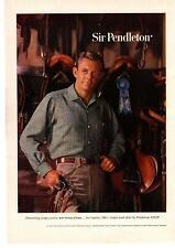 1959 Sir Pendleton Wool Shirt First Place Blue Ribbon Portland Oregon Print Ad