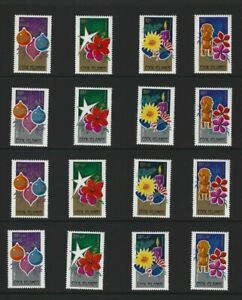 Cook Islands Three Christmas Sets 1979+Charity and Airmail Surcharges 16 Stamps