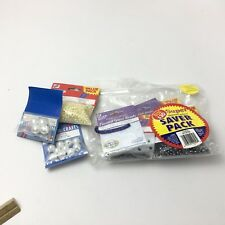 Lot of Super Pack of Glass Beads & Pearls Westrim Crafts Crafting