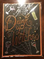PAPYRUS HALLOWEEN CARD NIP DRINK UP WITCHES CARD MSRP $5.95