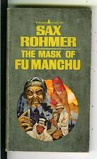MAS OF FU MANCHU by Sax Rohmer, Pyramid #R1303 crime Asian gga pulp vintage pb