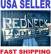 REDNECK EDITION car truck BUICK EMBLEM logo decal SUV SIGN badge ornament 01.
