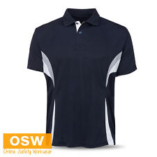 MENS LADIES COOL DRY BREATHABLE TRADIES/OFFICE/WORK/UNIFORMS POLO SHIRTS