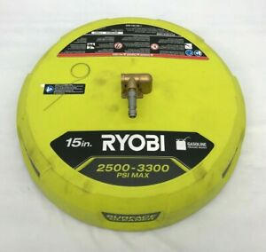 Ryobi RY31SC01 15 in. 3300 PSI Surface Cleaner for Gas Pressure Washer, GR