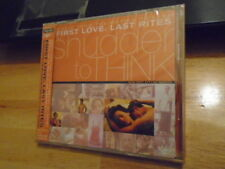 SEALED RARE JAPAN PROMO Shudder To Think CD ost SMASHING PUMPKINS Billy Corgan !