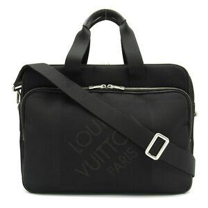 LOUIS VUITTON Associate GM Business crossbody Bag N58034 canvas Damier Geant