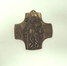 Sammlungsauflösung religiöse Volkskunst hochwertiges Kreuz Wandkreuz Bronze (16)