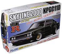 Fujimi ID136 Nissan Skyline 2000GT-R KPGC110 Ken & Merry Full Works Model Kit