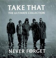 TAKE THAT the ultimate collection - never forget (CD compilation) greatest hits