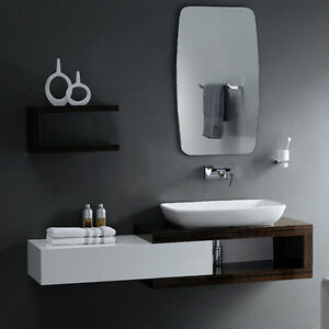 BATHROOM CABINET 80x35x25 in ash lacquered