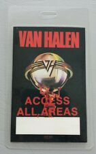 1986 Van Halen 5150 Backstage Pass Access All Areas With Box