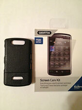 Griffin Hard Leather case and Screen Care kit for Blackberry Storm 9500 9530