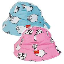 Girls' 100% Cotton Baby Caps & Hats