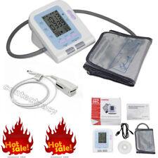 FDA Upper Automatic Digital Blood Pressure Monitor Heart Beat Meter adult probe