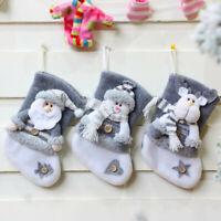 Christmas Tree Ornaments Christmas Stockings Gift Bag Christmas Gift Socks Decor