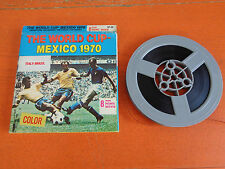 THE WORLD CUP MEXICO 1970 ITALY-BRAZIL 8 MM COLUMBIA PICTURES HOME MOVIE COLOR
