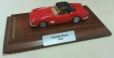ENNSTAL CLASSIC 1998 TEILNEHMER GESCHENK FERRARI 250 CABRIO ROT AUF HOLZBRET1:43