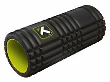 Black Trigger point performance GRID Foam Roller. Free instructional videos