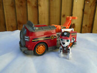 Paw Patrol Marshall Mission Patrol Vehicle And Figure Pup