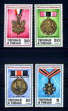 TRINIDAD & TOBAGO - 1972 - 10° anniversario dell'Indipendenza. Medaglie