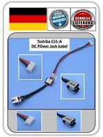 Toshiba Satellite C55-A Strom Netzteil Buchse  DC Power Jack Kabel  6017B0422501