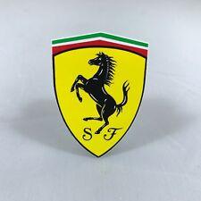 Ferrari Genuine Oem Small Shield Emblem Decal Sticker 95992896 1.5 X 2 Inches