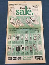 Vintage 1981 Montgomery Ward Advertising • 8-page Newspaper Ad • Complete • EVC