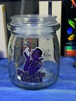 Purple Urkel Glass Jar Apothecary Prescription Weed Smell Proof