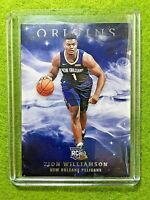 ZION WILLIAMSON ROOKIE CARD JERSEY #1 PELICANS RC  2019-20 Panini Origins rookie