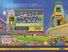 Armenia Football Cup Soccer Atletico Boca Juniors Sports 2016 MNH stamp sheet
