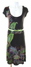DESIGUAL Womens A-Line Dress Size 16 Large Multicoloured Viscose  FO01