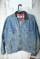 Marlboro Country Store Denim Jean Medium Vintage Men's Jacket